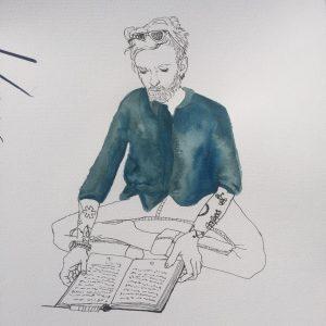 Frank Berzbach von Saskia Wragge